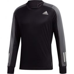 adidas Own The Run Langærmet Løbe T-shirt Herre
