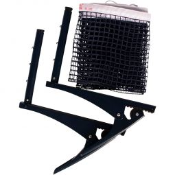 Double Fish Table Tennis Net w/ Clips