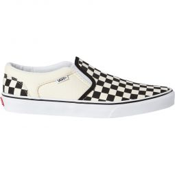 Vans Asher Slip-On Canvas Sneakers Herre
